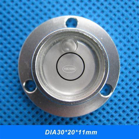 Aluminum Alloy Bullseye 48x35x13mm Spirit Level total station blisters spirit level high accuracy vial alloy metal shell bullseye