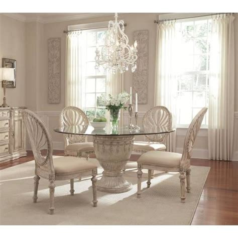 Empire Ii Round Dining Group Schnadig Star Furniture Dining Room Furniture San Antonio