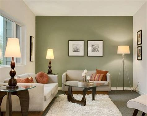 Green Livingroom painting your living room walls