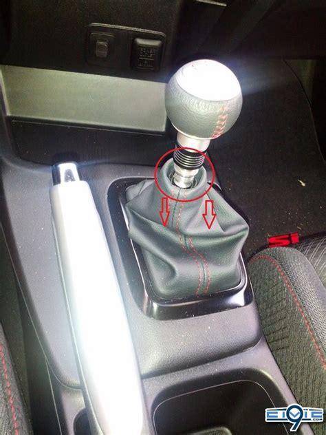 2012 Honda Civic Si Shift Knob by Diy 2012 Civic Si How To Remove Your Shift Knob 9th