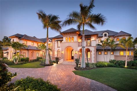 waterfront estate home in port royal naples florida