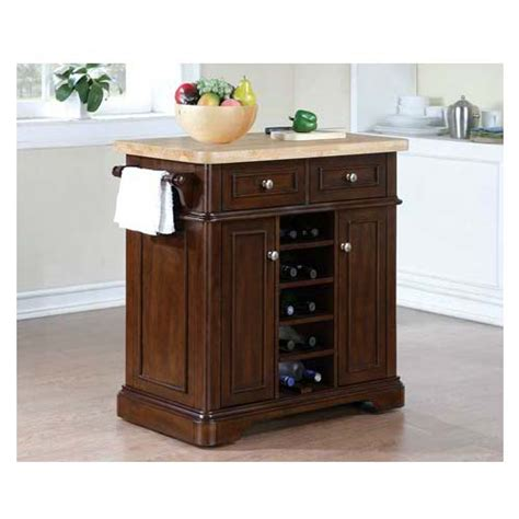 tresanti fontaine kitchen island roasted cherry kc2578 c270 36
