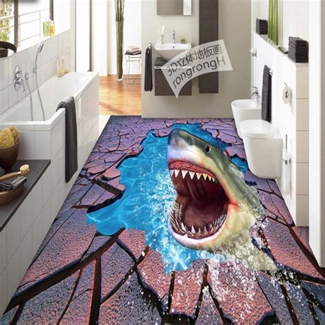 bedroom world free delivery code free shipping sea world shark crack 3d floor painting