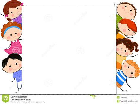 art of analog layout free download groupe des enfants et du cadre illustration de vecteur