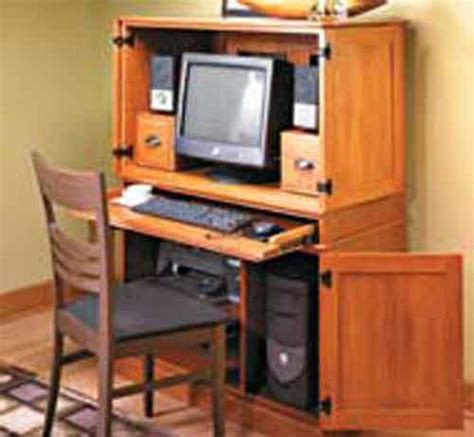 computer storage hideaway cabinet desk plans to build hideaway computer desk cabinet pdf plans