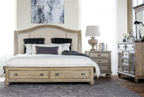 california king storage bedroom sets sutton california king storage bed 1295 client thorpe