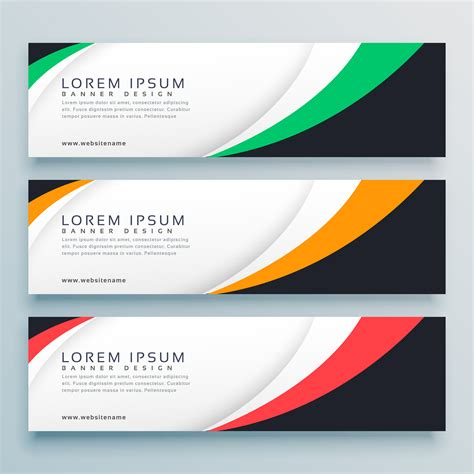 free header templates abstract web banner or header design template