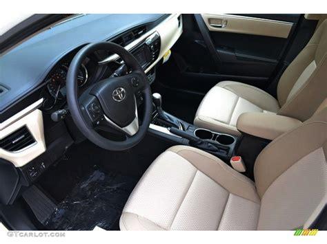 Toyota Corolla 1999 Interior Ivory Interior 2016 Toyota Corolla Le Plus Photo