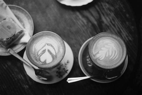 black  white coffee coffee art photography vintage