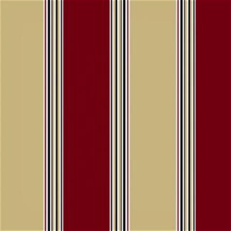 hton bay chili stripe outdoor fabric by the yard