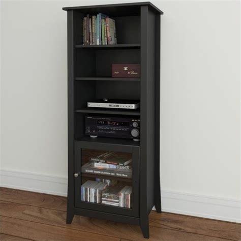 Black Curio Cabinet by Tuxedo Curio Cabinet In Black 203306