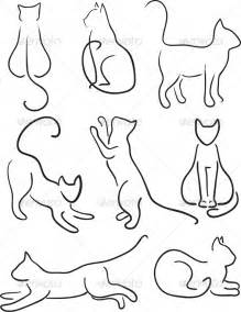 gallery gt cat outline tattoos