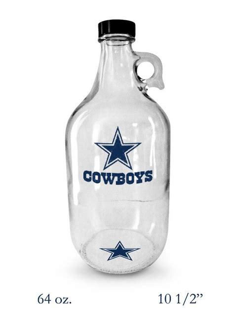 gifts for cowboys fans nfl dallas cowboys beer growler home brew beer gift
