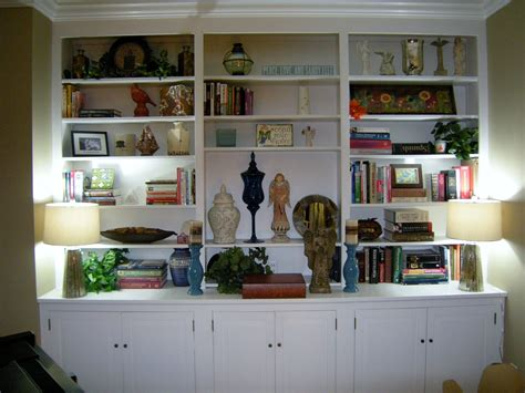 how to decorate built in shelves how to decorate bookshelves heartwork organizing tips