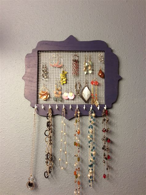 jewelry holder wilker do s diy jewelry holder
