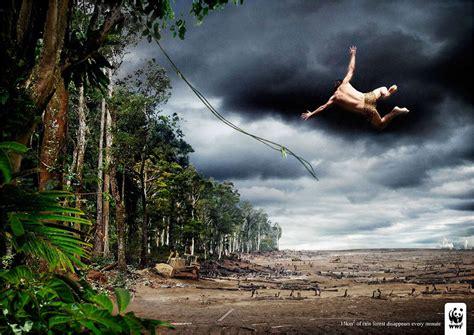 commercial that tarzan knows where tazan goes wwf rain forest tarzan print ad ocean of knowledge