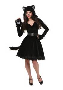 black cat halloween costumes plus size women s black cat costume