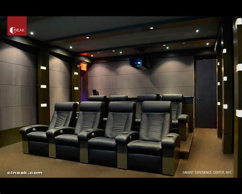 savant experience center  cineak seats modern