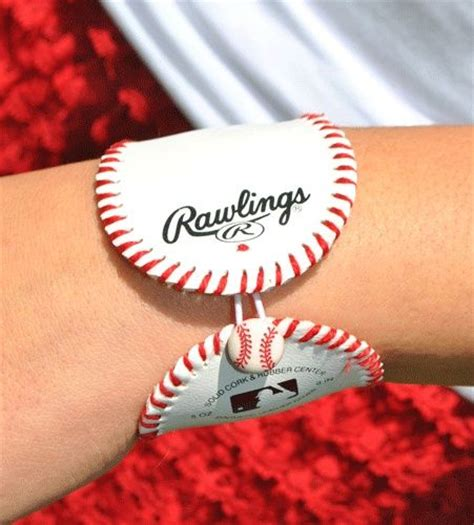 baseball for bracelets 1000 ideas about baseball bracelet cuff on