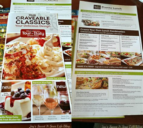 lunch time  olive garden family food adventure jays