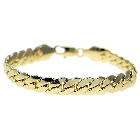 9 inch miami cuban bracelet 10mm bracelets