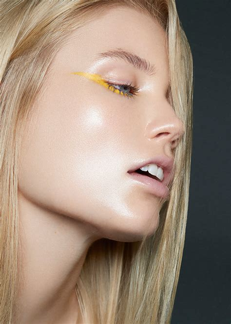 rise beauty editorial for laud magazine lesya kostiv