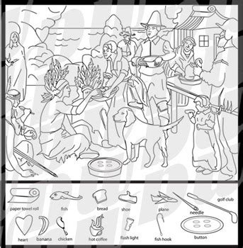 free printable hidden pictures thanksgiving first thanksgiving hidden images puzzle thanksgiving