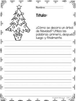 Finish the Story - Christmas Edition {SPANISH} by MM