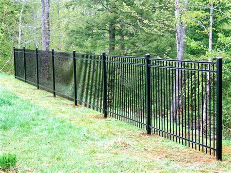 metal fence ornamental steel aluminum hill fence