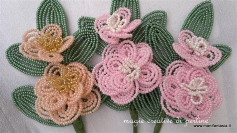guttaperca per fiori tutorial fiori di perline la camelia manifantasia