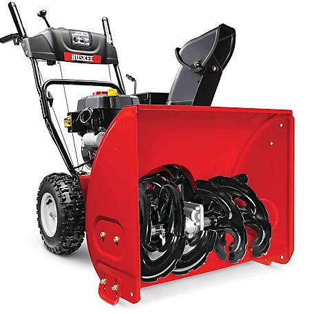 Huskee 24 In 2 Stage Snow Blower At Tractor Supply Co