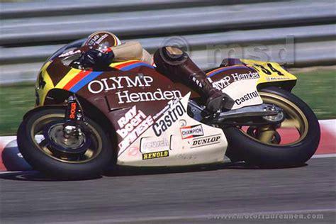 500 Ccm Motorrad Wm by Gustav Reiner Gp Spa 1984 Honda 500ccm