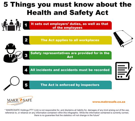 health and safety act section 2 5 things to know about 5 things to know about