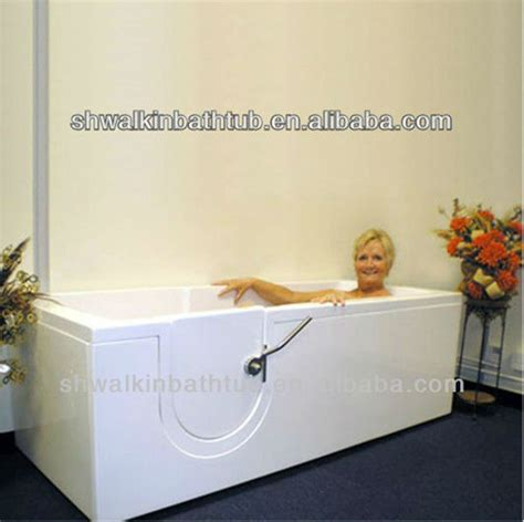 lay down walk in bathtub step in soaker lay down walk in bathtub for seniors view