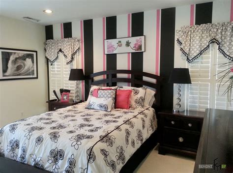 bedroom with stripes color schemes for kids and teenage bedrooms miss alice
