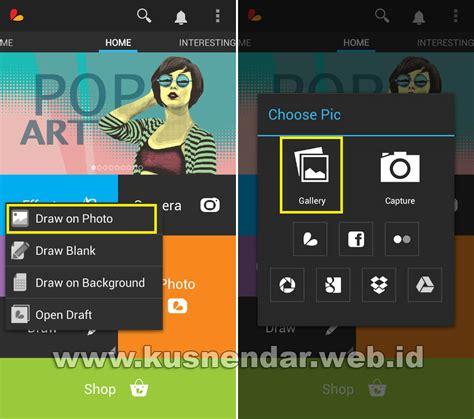 cara edit foto seperti photoshop di android cara mengganti background foto di android seperti di