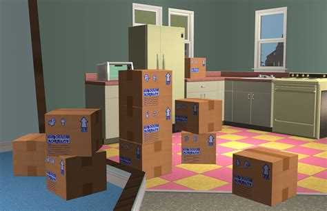 sims 4 moving boxes mod the sims mootilda and phae s for sale sign
