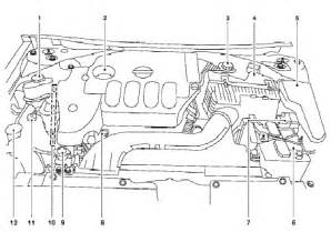 nissan engine diagram
