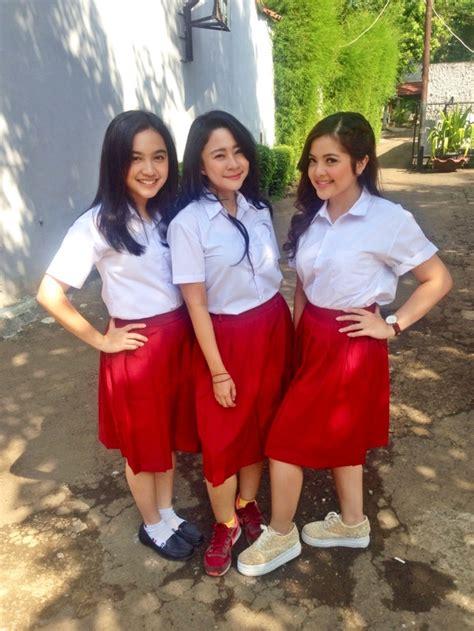 Baju Sekolah Anak Sd tiga mantan artis cilik ini cantik kece pakai baju anak sd kapanlagi