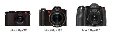 Jenis Dan Kamera Leica leica sl sistem kamera mirrorless dengan sensor frame