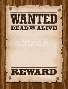 wanted dead or alive poster template free free printable word apps directories