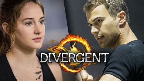 tris amp four get close in new divergent photos youtube