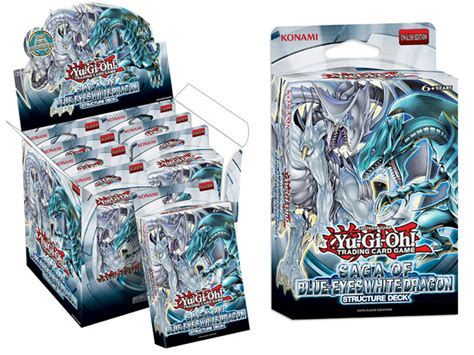 saga of blue white deck yu gi oh tcg structure deck saga of the blue white
