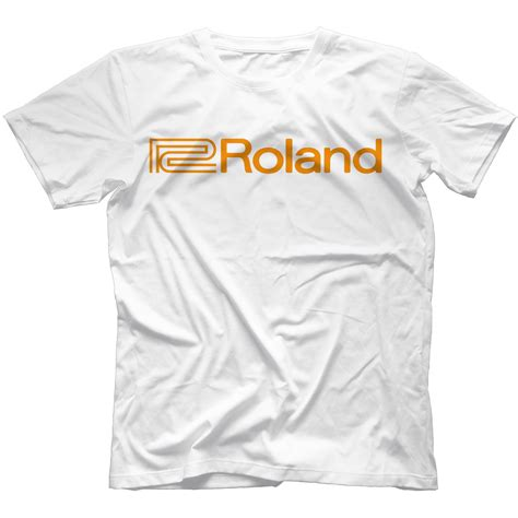 roland t shirt 100 cotton ebay