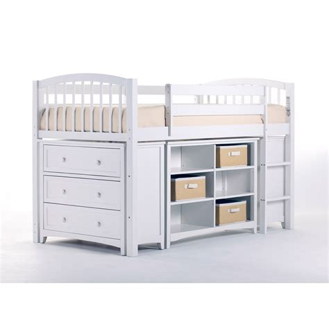 kids loft bed with storage ne kids school house white storage junior loft bed on