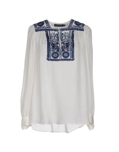 Blouse Batik O lyst antik batik blouse in white