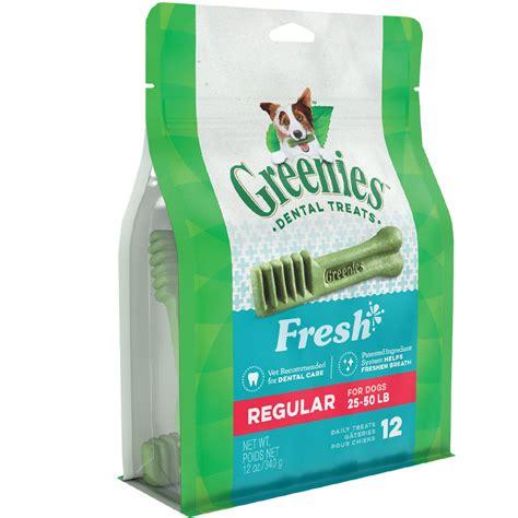 Greenies Freshmint greenies freshmint treat pak regular 12 treats 12 oz
