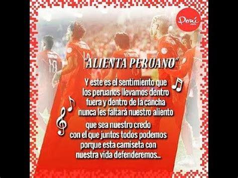 letra de cancion banderita banderita peru alienta peruano canci 243 n oficial rumbo a rusia 2018