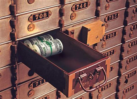 Safety Box Bank money is not safe in the big banks deadly clear