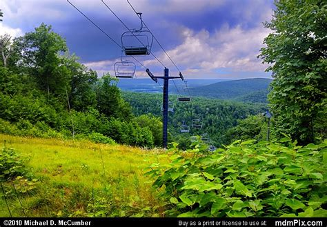 Blue Knob Ski Pa by Blue Knob Ski Resort Slopes Picture 039 July 18 2009